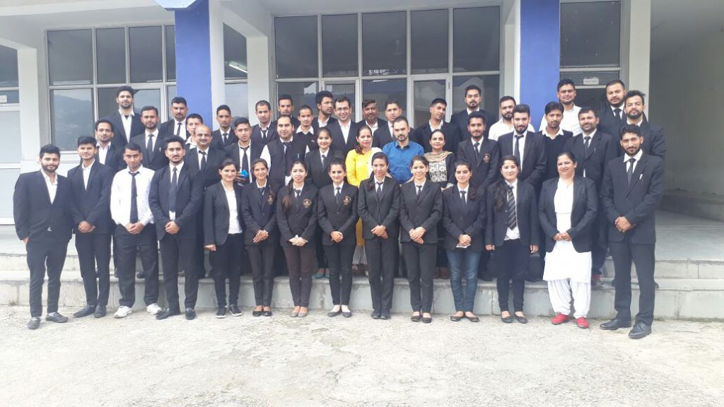 Students of Indian Institute of Legal Studies